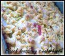 drożdżowe z rabarbarem