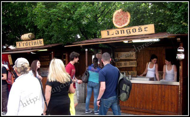 Praha- langose