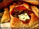 ciasteczka francuskie z fetą i oliwkami