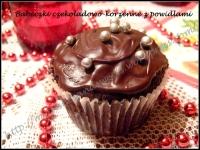 Babeczki czekoladowo-korzenne z powidłami