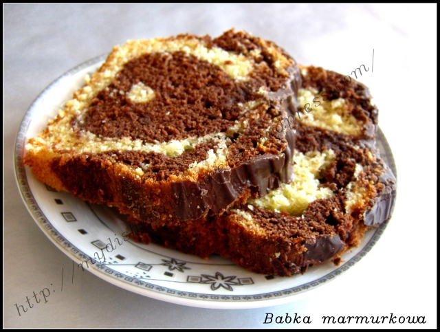 Babka marmurkowa  My dishes and sweets
