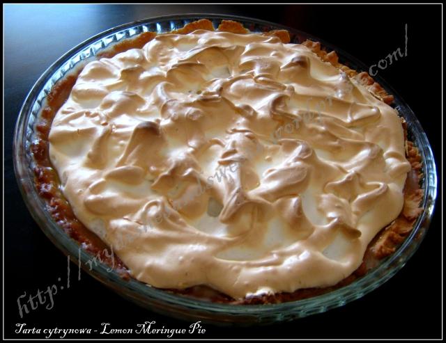 Tarta cytrynowa - Lemon Meringue Pie