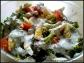 sałatka z kalafiorem i brokułem
