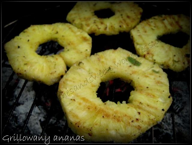 Grillowany ananas