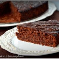 Ciasto czekoladowe z dynią i migdałami
