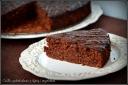 czekoladowe ciasto z dynią i migdałami