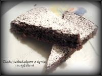 ciasto czekoladowe z dynia i migdalami