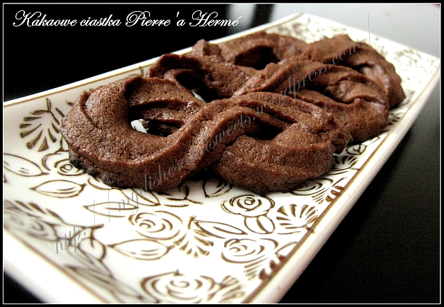 kakaowe ciastka Pierre'a Herme
