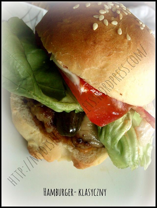klasyczny hamburger