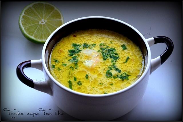 Tajska zupa - tom kha