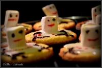 bałwanki i renifery ciastka