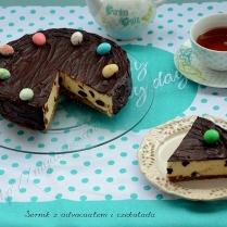 Sernik z advocaatem i czekoladą